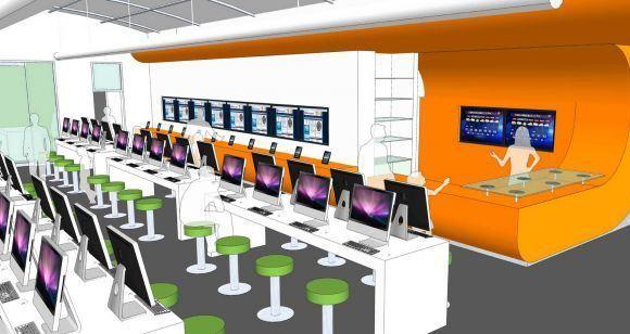 San Antonio e-library concept
